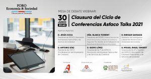 Clausura del Ciclo de Conferencias Asfaco Talk 2021